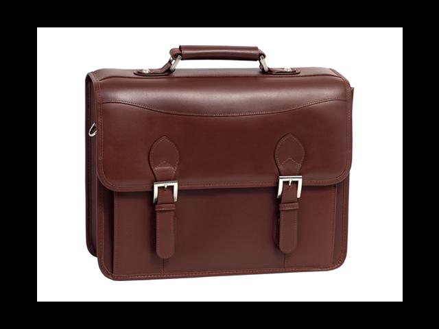 Siamod Manarola Belvedere Leather Double Compartment Laptop Case