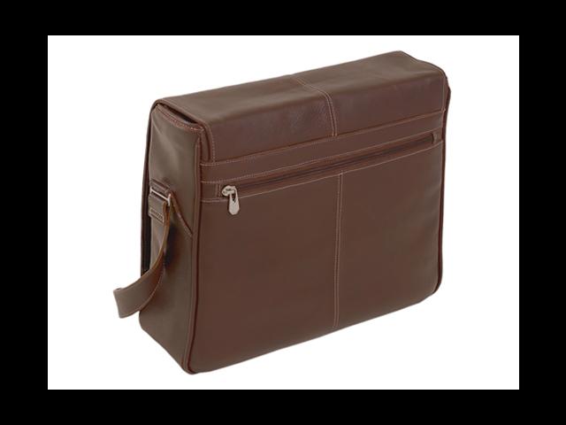 "Siamod San Francesco Leather 15"" Laptop Messenger Bag"