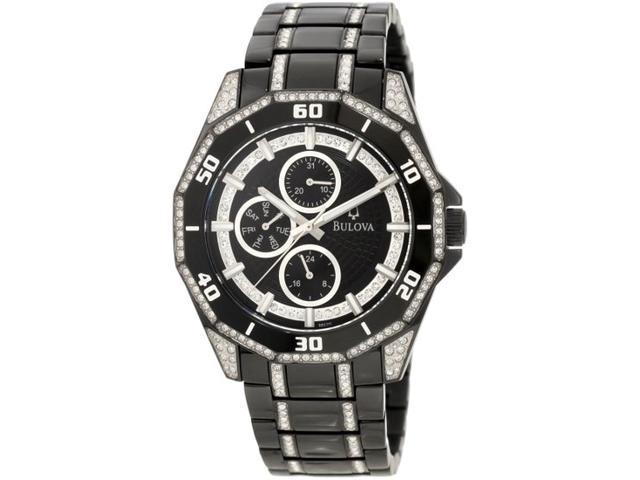 Bulova Men's 98C111 Crystal Multifunction Watch