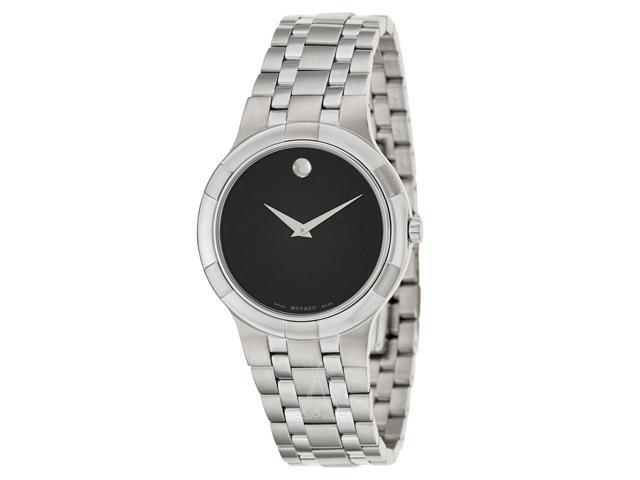 movado 0606203 metio series men s black museum dial swiss quartz movado 0606203 metio series men s black museum dial swiss quartz watch