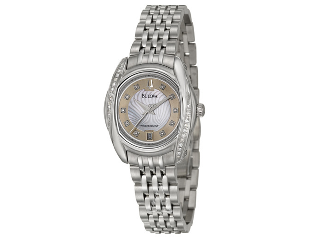 Bulova Precisionist Tanglewood Women's Quartz Watch 96R141