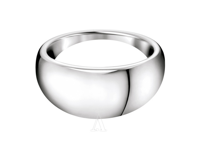 Calvin Klein Jeans Jewelry Thin Women's  Ring KJ48AR010105