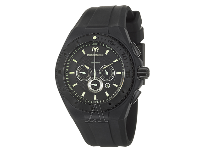 Technomarine Cruise Night Vision Chrono Black And Mint Watch 109048