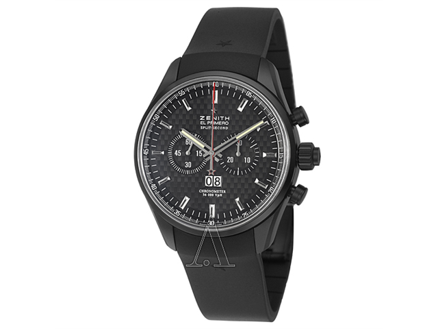 Zenith El Primero Rattrapante Men's Automatic Watch 75-2050-4026-21-R530