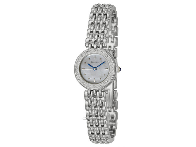 Bulova Dress Diamond Ladies Watch 96R150