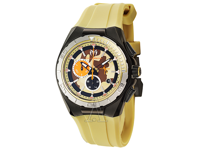 TechnoMarine Cruise Steel Camouflage Men's Quartz Watch 110072