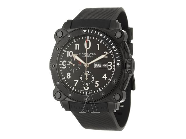 Hamilton Khaki Navy BeLOWZERO Auto Chrono Men's Automatic Watch H78686333