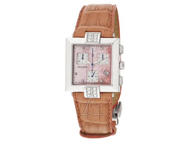 Concord La Scala Square Women's Quartz Watch 0310318