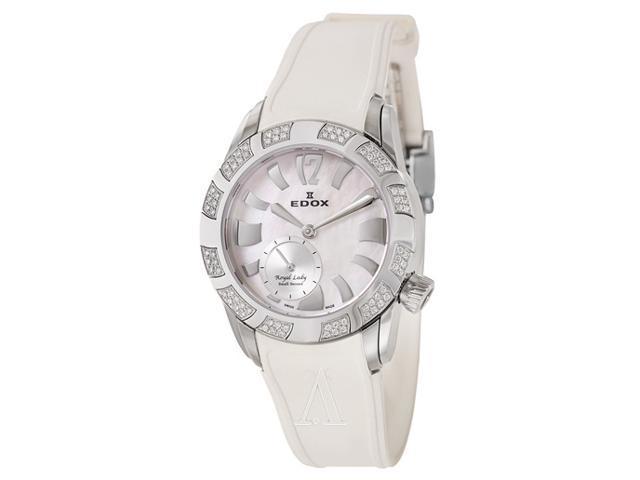 Edox Royal Lady Small Second Women's Quartz Watch 23087-3D80-NAIN