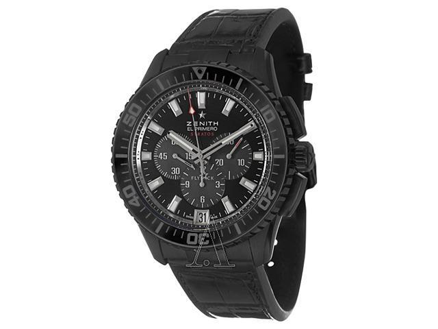 Zenith El Primero Stratos Flyback Men's Automatic Watch 24-2060-405-21-C714