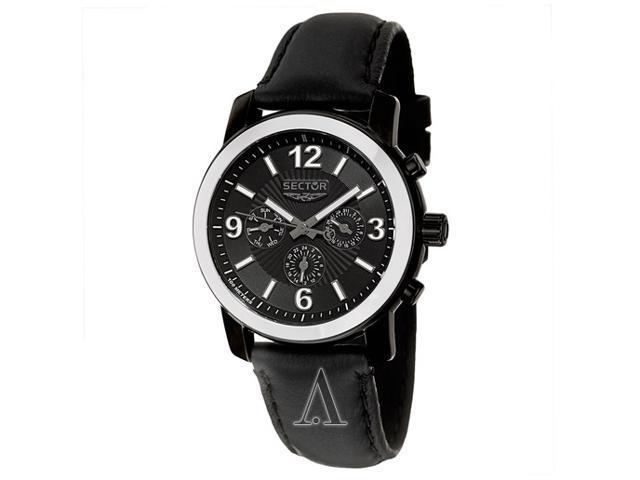 Sector Action 500 Men's Black Dial Quartz Watch R3271639025