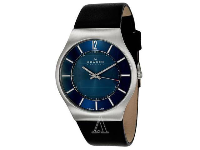 Skagen Denmark Blue Solar Mens Watch 833XLSLN