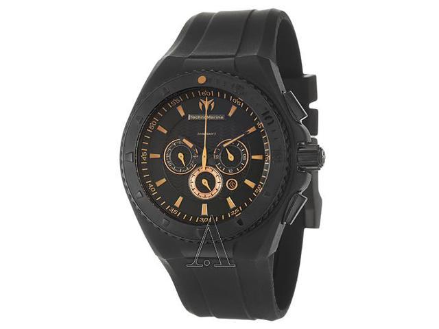 Technomarine Cruise Night Vision Chrono Black And Copper Watch 109047