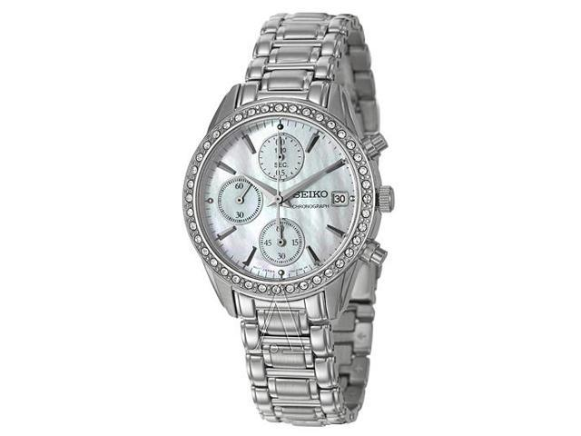 Seiko Chronograph Women's Quartz Watch SNDY21