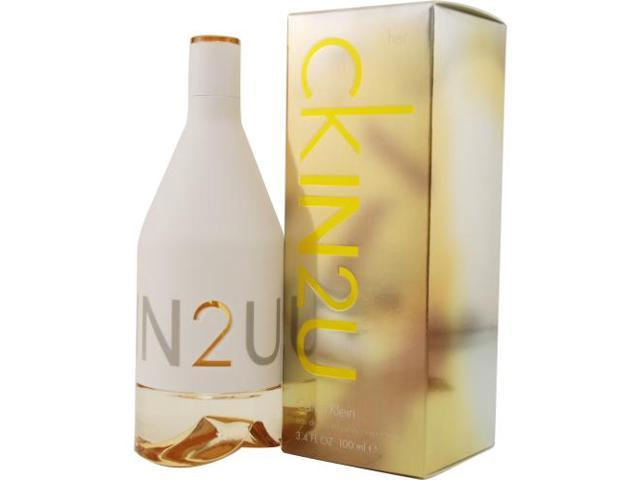 CK IN2U by Calvin Klein EDT SPRAY 3.4 OZ for WOMEN