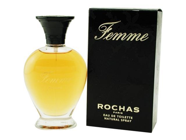 FEMME ROCHAS by Rochas EDT SPRAY 3.4 OZ for WOMEN