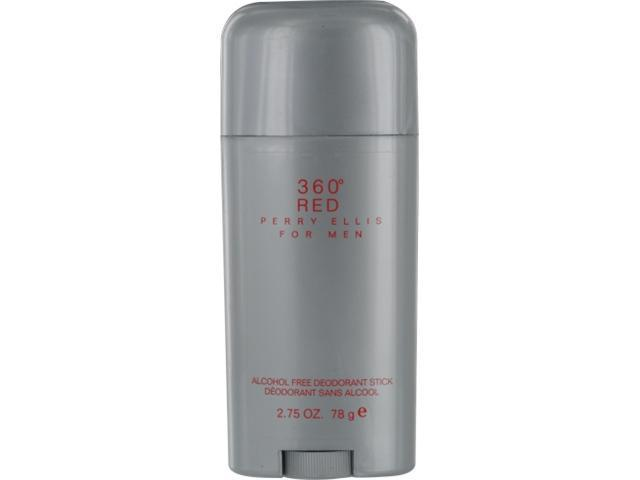 PERRY ELLIS 360 RED by Perry Ellis DEODORANT STICK ALCOHOL FREE 2.75 OZ for MEN