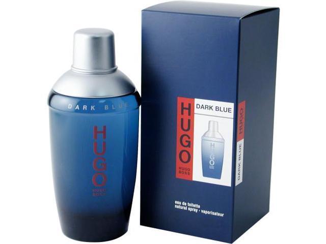 HUGO DARK BLUE by Hugo Boss EDT SPRAY 2.5 OZ for MEN