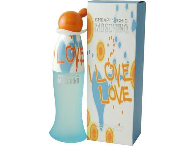 I LOVE LOVE by Moschino EDT SPRAY 1 OZ for WOMEN