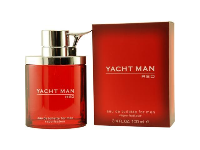 Yacht Man Red - 3.4 oz EDT Spray