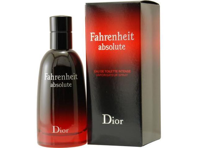 FAHRENHEIT ABSOLUTE by Christian Dior INTENSE EDT SPRAY 3.4 OZ for MEN