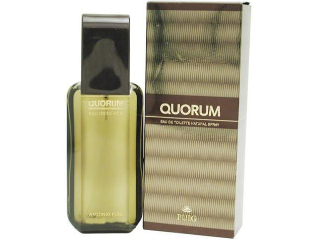 QUORUM by Antonio Puig EDT SPRAY 3.4 OZ for MEN