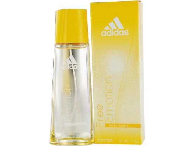 ADIDAS FREE EMOTION by Adidas EDT SPRAY 1.7 OZ for WOMEN