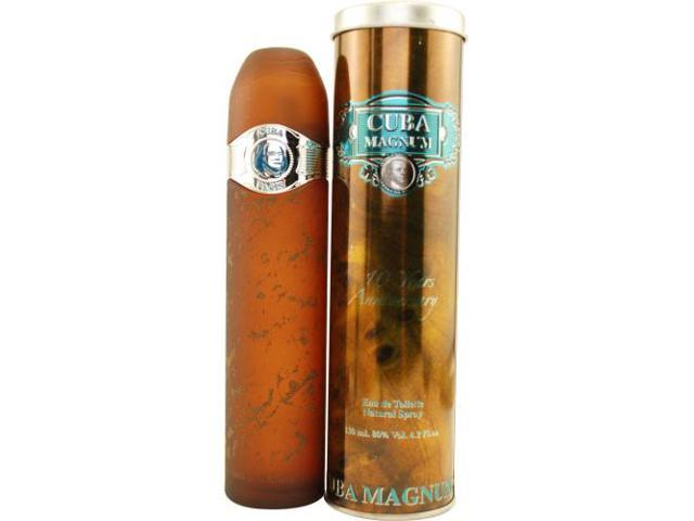 CUBA MAGNUM BLUE by Cuba EDT SPRAY 4.2 OZ for MEN