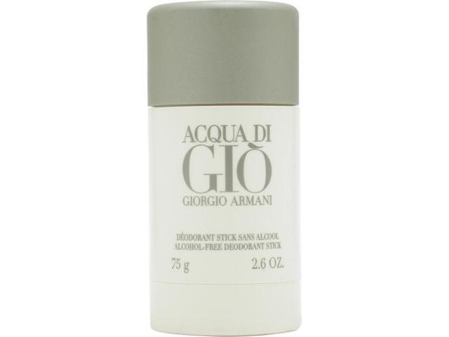 ACQUA DI GIO by Giorgio Armani ALCOHOL FREE DEODORANT STICK 2.6 OZ for MEN