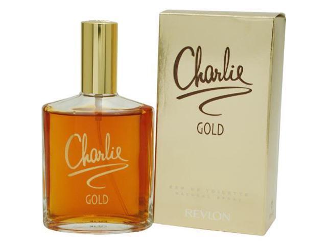 CHARLIE GOLD by Revlon EDT SPRAY 3.4 OZ for WOMEN