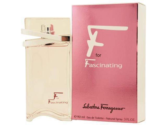 F FOR FASCINATING by Salvatore Ferragamo EDT SPRAY 3 OZ for WOMEN