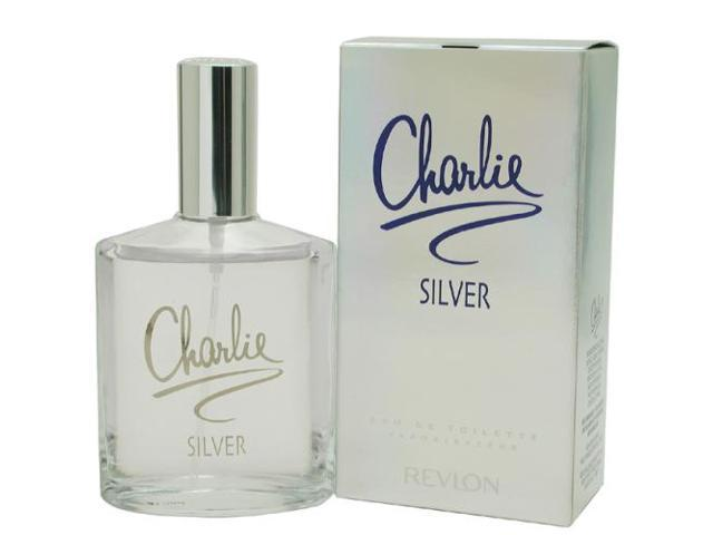 CHARLIE SILVER by Revlon EDT SPRAY 3.4 OZ for WOMEN