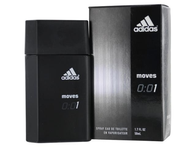 Adidas Moves 0:01 by Adidas EDT SPRAY 1.7 OZ for MEN