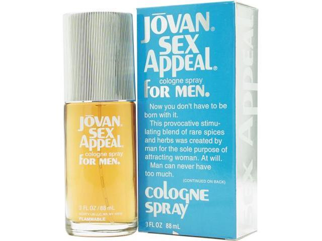 Jovan Sex Appeal - 3 oz EDC Spray