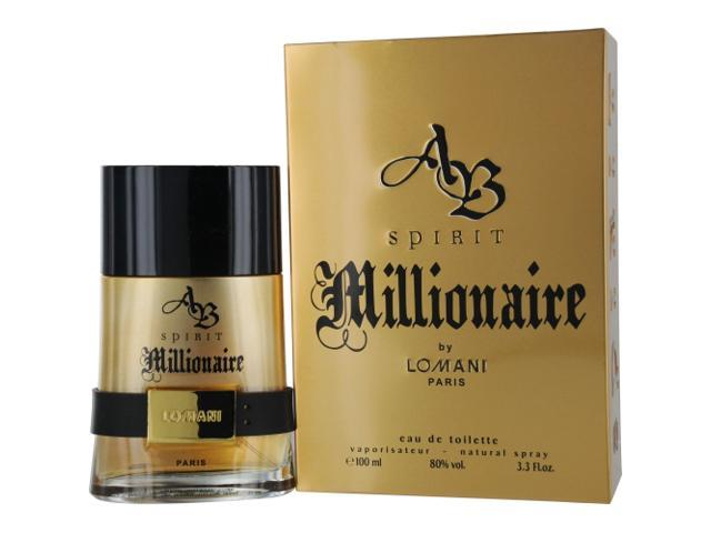 AB Spirit Millionaire by Lomani 3.3 oz EDT Spray