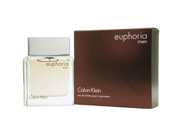 EUPHORIA MEN by Calvin Klein EDT SPRAY 3.4 OZ for MEN