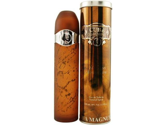 CUBA MAGNUM BLACK by Cuba EDT SPRAY 4.3 OZ for MEN