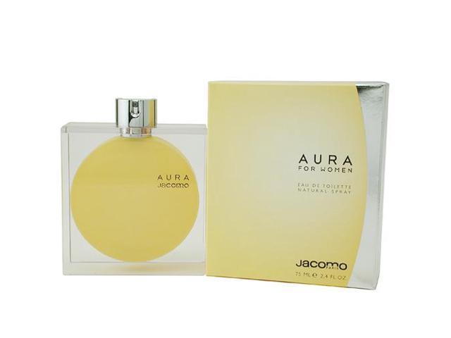 AURA by Jacomo EDT SPRAY 2.4 OZ for WOMEN