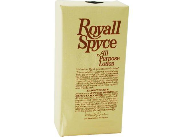 Royall Spyce Cologne - 8 oz Lotion
