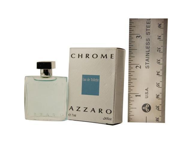 CHROME by Azzaro EDT .24 OZ MINI for MEN