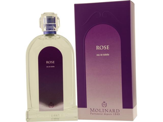 LES FLEURS ROSE by Molinard EDT SPRAY 3.4 OZ for WOMEN