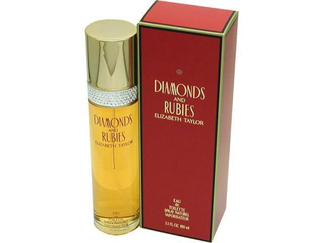 Diamonds Rubies by Elizabeth Taylor 3.3 oz EDT Spray