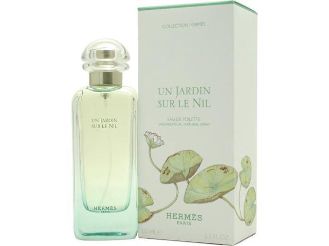 UN JARDIN SUR LE NIL by Hermes EDT SPRAY 3.3 OZ for WOMEN