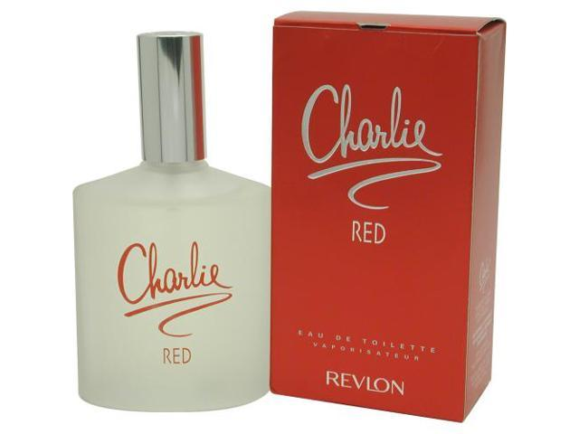 CHARLIE RED by Revlon EDT SPRAY 3.4 OZ for WOMEN