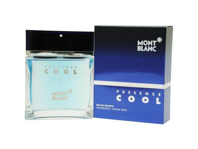 MONT BLANC PRESENCE COOL by Mont Blanc EDT SPRAY 2.5 OZ for MEN