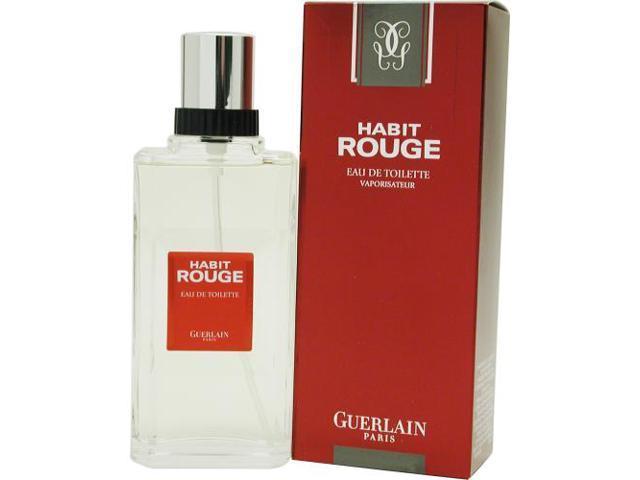 HABIT ROUGE by Guerlain EDT SPRAY 3.4 OZ for MEN
