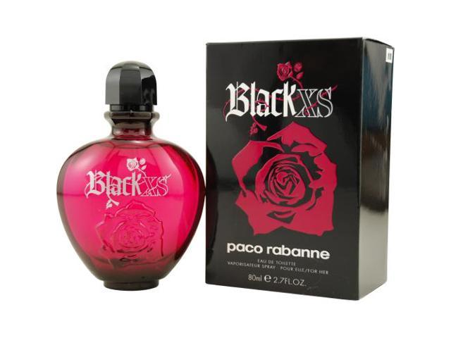 BLACK XS by Paco Rabanne EDT SPRAY 2.7 OZ for WOMEN