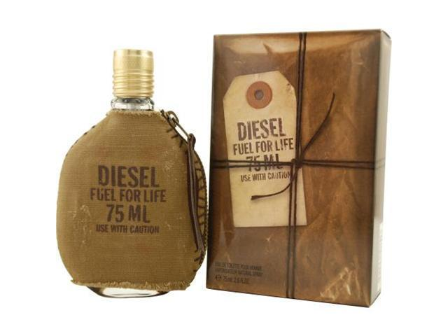 DIESEL FUEL FOR LIFE by Diesel EDT SPRAY 2.5 OZ for MEN