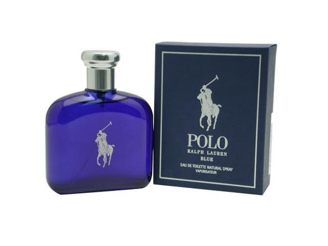 POLO BLUE by Ralph Lauren EDT SPRAY 4.2 OZ for MEN