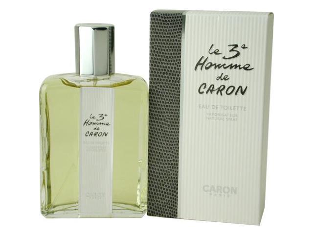 LE 3RD CARON by Caron EDT SPRAY 4.2 OZ for MEN